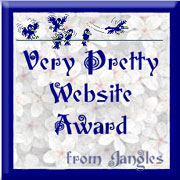 very pretty website award